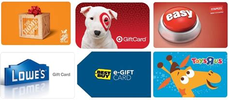 How Much Is On My Home Depot Gift Card - 20 off 100 store gift cards target lowes home depot toys r us much more