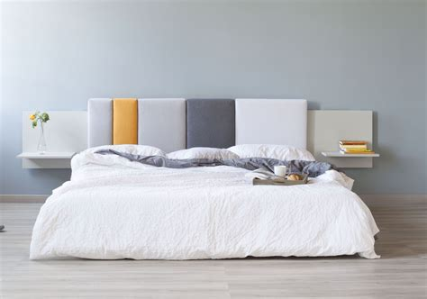 A Bed Headboard by Comoditi Is A Modular Bed Headboard Made With Eco Friendly