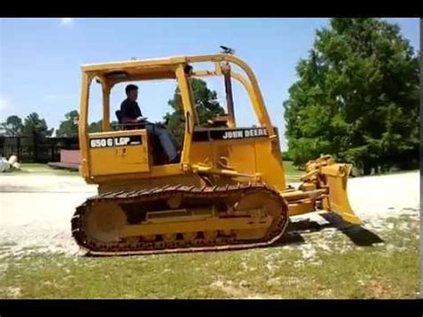 crawler dozer john deere 650g lgp for sale youtube