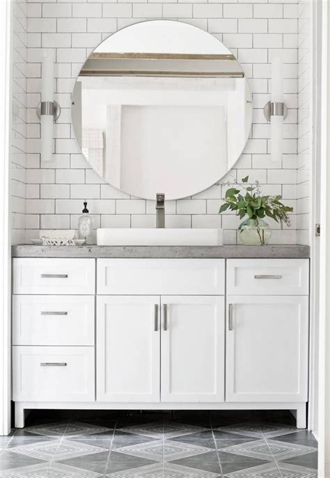how to install bathroom cabinets and vanities 25 best ideas about concrete countertops bathroom on