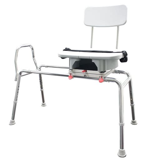 snap n save sliding transfer bench 77663 snap n save sliding transfer bench with molded cut
