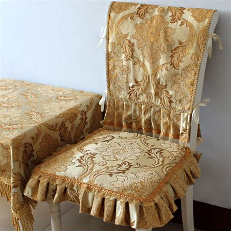 Luxury Woven Jacquard Dining Room Chair Covers Luxury Dining Chair Covers Luxury Woven Jacquard Dining