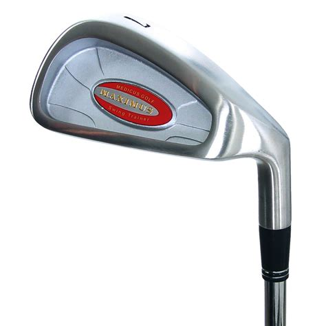 medicus swing speed medicus golf maximus hittable weighted 7 iron swing