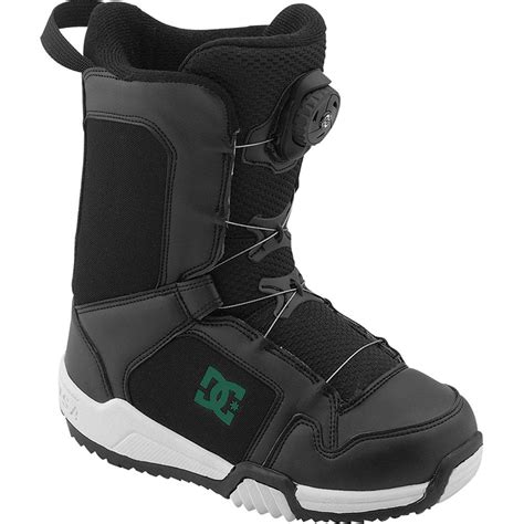 scout boats dc dc scout boa snowboard boot kid s peter glenn