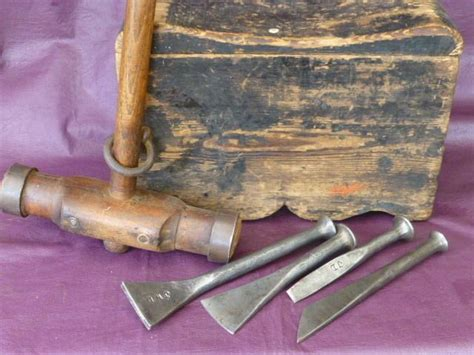 vintage collectable rare shipwrights tools caulking