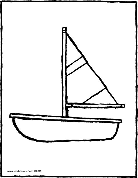 kleine zeilboot kleine zeilboot kiddicolour
