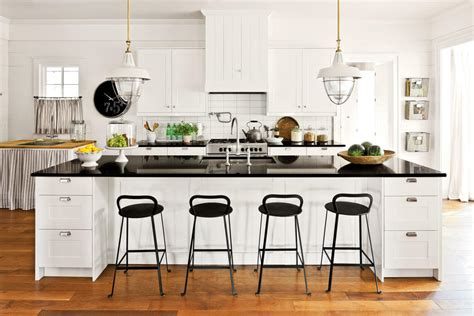 southern living kitchen designs farmhouse style cabinets crisp classic white kitchen