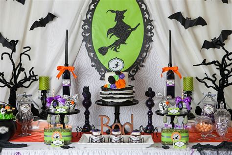 witch themed decorations a wickedly sweet witch inspired