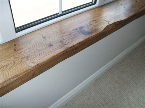 Window Sill Finishes Oak Window Sill Board Period Oak Beams