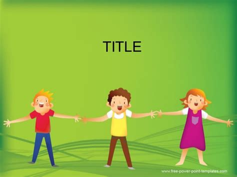 Children Powerpoint Background And Ppt Template For Early Childhood E Free Early Childhood Powerpoint Templates