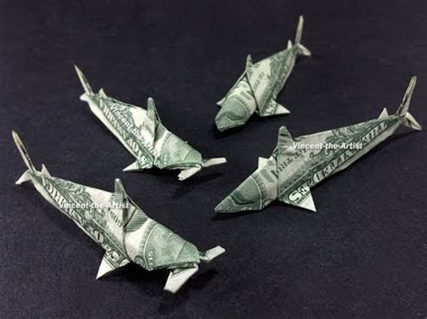 Origami Hammerhead Shark - money origami sharks koi fish hammerhead sharks