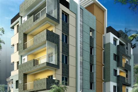 appartment elevation arconceptz architects architecture and interior design