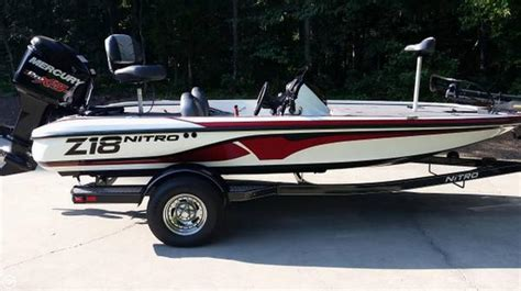 used nitro z18 bass boats for sale 2016 used nitro z18 bass boat for sale 33 900