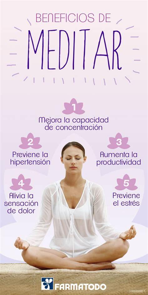 meditacin meditation la conoce los beneficios de meditar salud salud y ejercicios meditation benefits