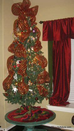 christmas tree mesh ribbon on pinterest