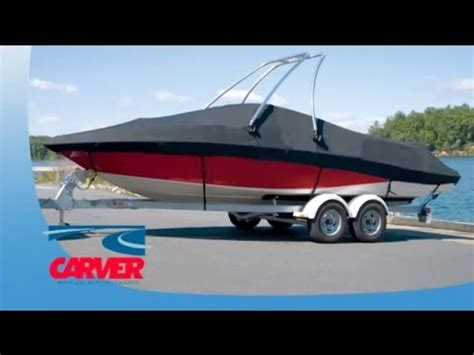 boat covers youtube carver boat covers fit features youtube