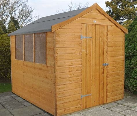 Shiplap Roof by 8 X 6 Shed Plus Shiplap Apex Roof Shed What Shed