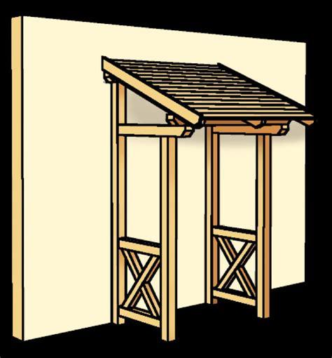 vordach selber bauen vordach f 252 r gartenhaus selber bauen my