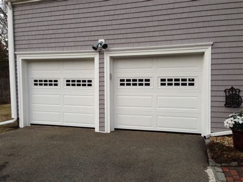 Raised Panel Steel Insulated Garage Doors Traditional Boston Overhead Door