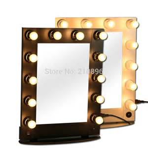 Makeup Mirror With Lights Buy Aliexpress Buy Professional Lighted Makeup Mirrors
