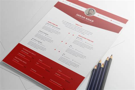 template resume psd free psd resume template in four colors
