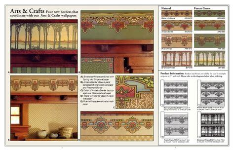 arts and crafts wallpaper borders wallpaper borders arts crafts style pinterest