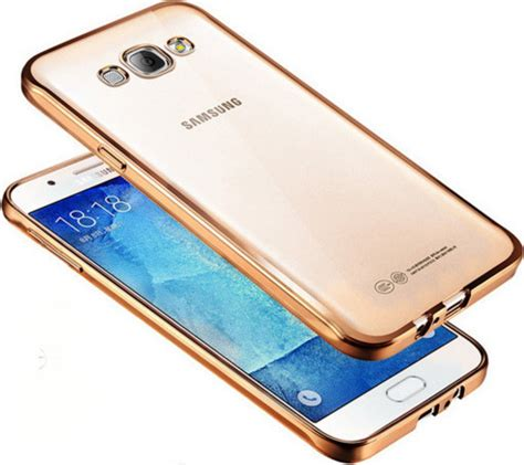 Samsung Galaxy J5 J510 2016 Tpu Shining Chrome Casing Cover oem chrome bumper silicone gold galaxy j5 2016 skroutz gr