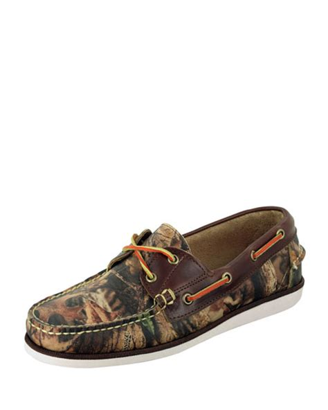 eastland made in maine boat shoes eastland made in maine freeport realtree camo boat shoe