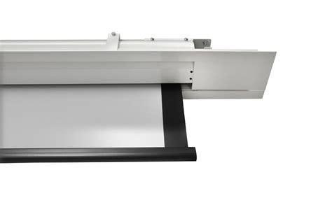 recessed ceiling projector screen celexon ceiling recessed electric expert cree 220x165 matt