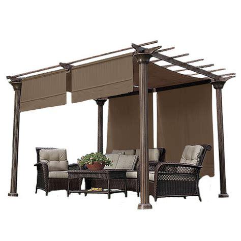 sunbrella pergola canopy garden winds replacement gazebo canopy garden winds