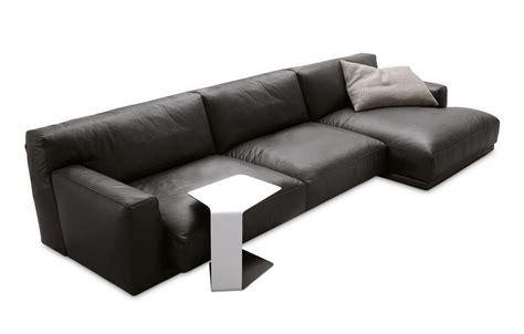 chaise longue leather sofa seoul sofa with chaise longue seoul collection