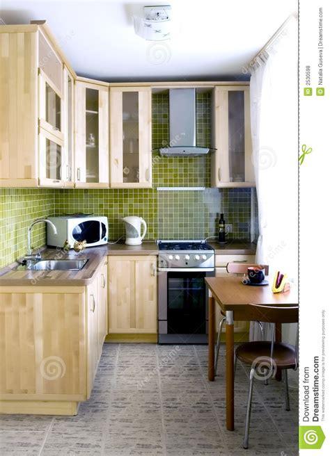 armadietti cucina armadietto di legno naturale della cucina fotografia stock
