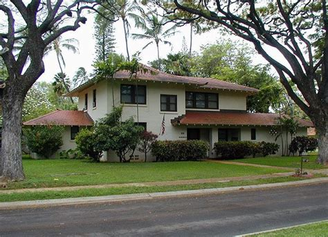 hawaii army base housing preserving historic military housing in hawaii 1937 officer s house hickam air force