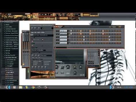 how to make trap hi hat in fl studio doovi tutorial on trap bass and hi hat rolls fl studio youtube