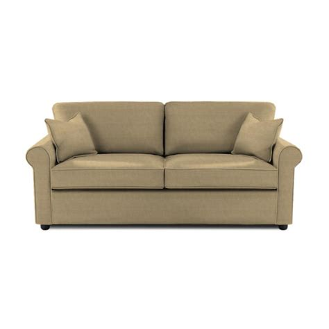brighton microsuede sleeper sofa