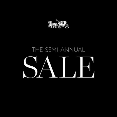Semi Annual Sale by Coach Semi Annual Sale 2016