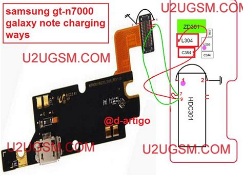 Fkexibel Charger Mic Samsung Note 1 N7000 samsung galaxy note n7000 charging problem solution