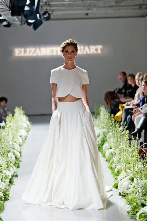Hochzeit Rock by Braut Mode Trends Angesagte Ideen Aus Zwei Teilen