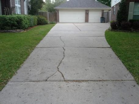 how to repair your cracked driveways ardel concrete