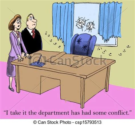 "clipart of conflict resolution ""i take it the department"