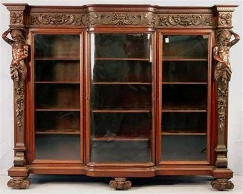 Mahogany Bookcase With Doors Mahogany Bookcase With Glass Doors Doherty House