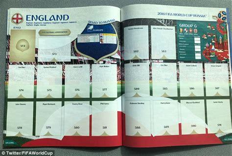 Panini World Cup 2018 Sticker Album