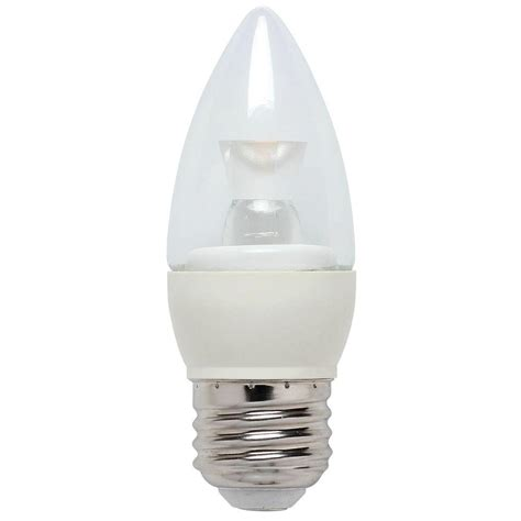 dimmable led light westinghouse 25w equivalent bright white torpedo b10 dimmable led light bulb 3304600 the home