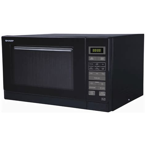 Microwave Oven Sharp R 222y sharp r372km microwave oven in black 25l 900w touch