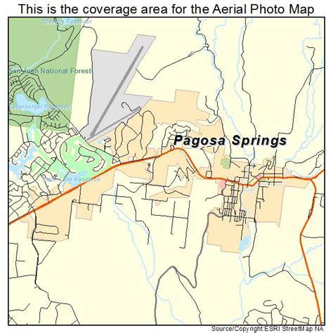 map of colorado pagosa springs pagosa springs colorado map images