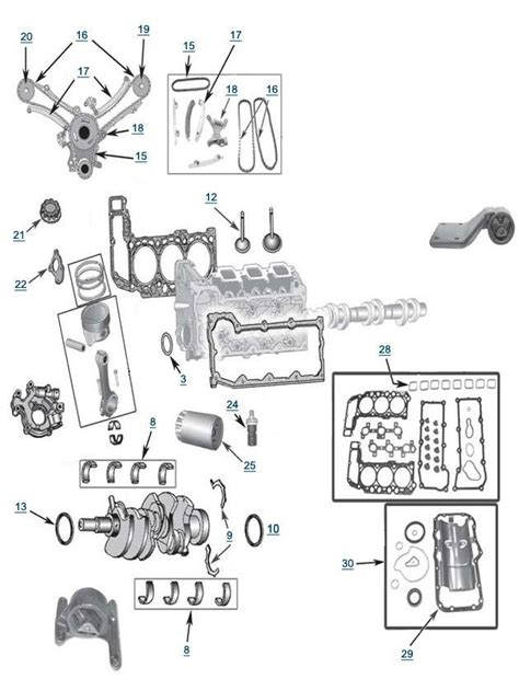 2005 Jeep Liberty Engine Diagram Jeep Liberty 3 7l Engine Parts Free Shipping At 4wd For