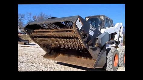 bobcat landscape rake bobcat lr6b landscape rake for sale sold at auction december 31 2013