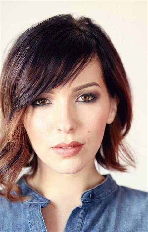 chin length asymmetrical hairstyles 1001 ideas for chic and feminine bob hairstyles