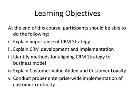 Mba Vs Mpm by Crm Strategy