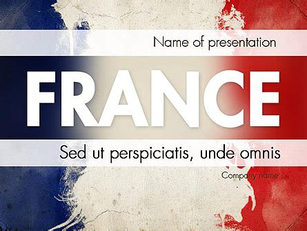 France Presentation Presentation Template for PowerPoint